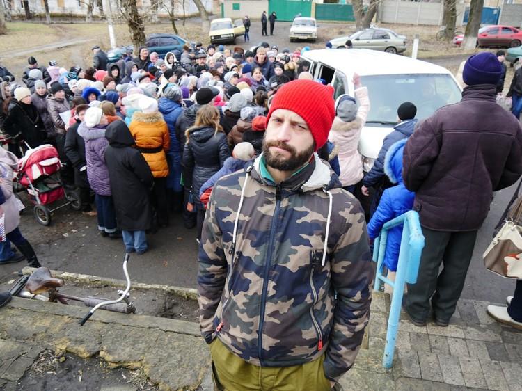 На Донбассе Алексей уже четыре года. Фото: архив Алексея Смирнова.