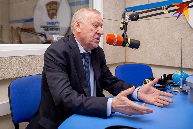 Евгений Тефтелев дважды выходил в эфир на радио «Комсомольская правда».