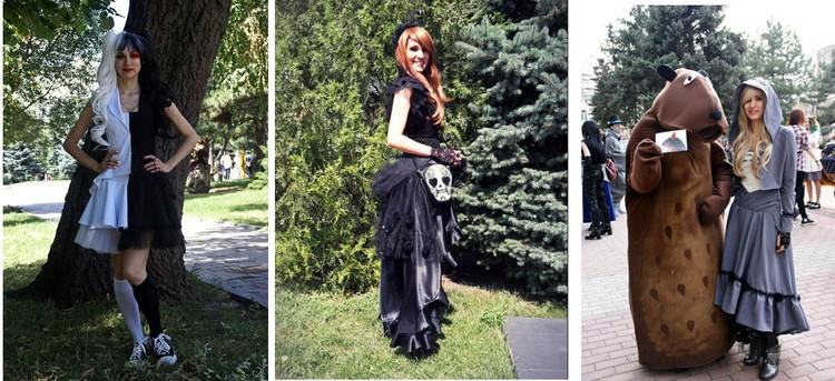 Анна шила наряды для косплея