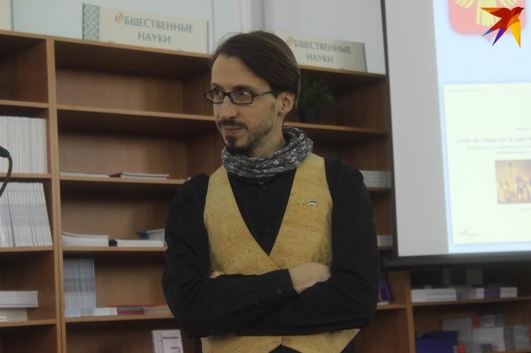 Себастьян — популяризатор коми культуры на западе