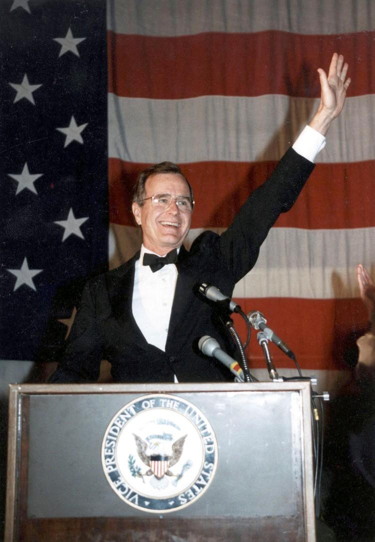 Джордж Буш-старший был 41-м президентом Соединенных Штатов.