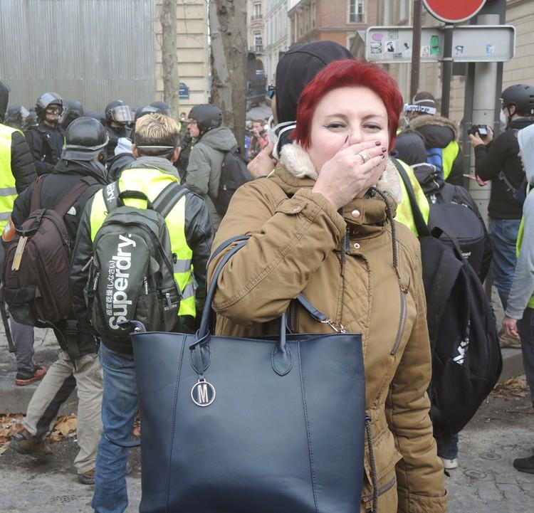 Корреспондент «КП» Дарья Асламова попала под обстрел газовыми гранатами