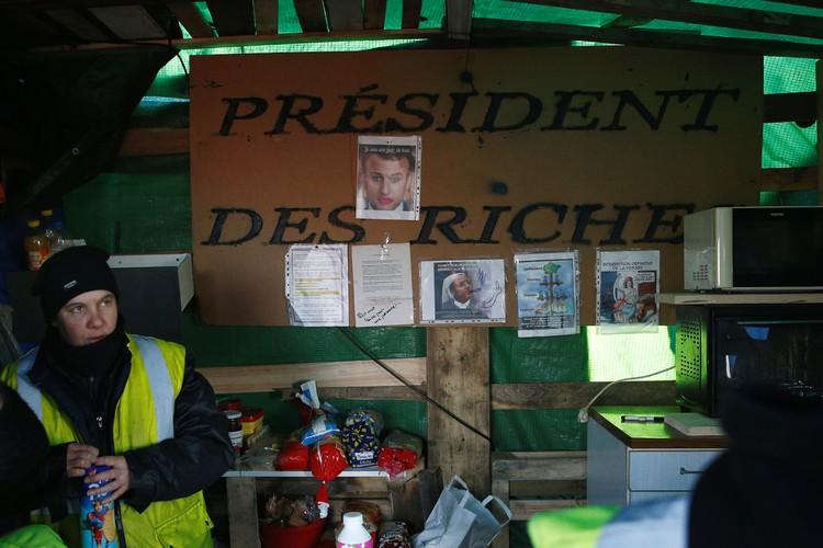 Протесты продолжаются во Франции с начала ноября