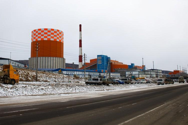 Новая сахалинская ГРЭС-2. Автор фото : Семен ГОРСКИЙ.