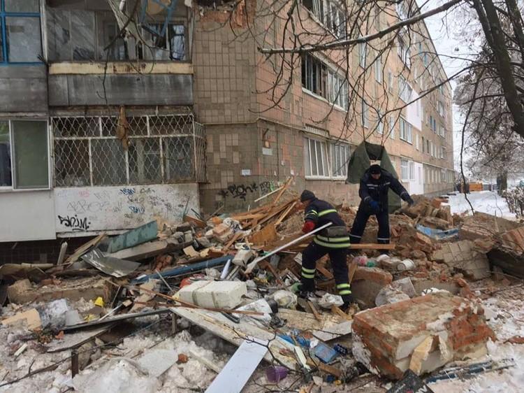 Погибших в результате взрыва нет Фото: ДСНС Украины