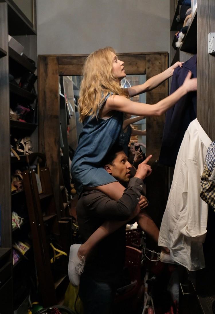 В фильме Наталья сыграла девушку главного героя. Фото: кадр из фильма.
