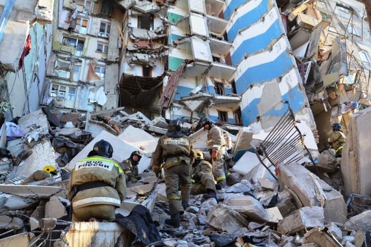 Под завалами могут находится до 70 человек. Фото: ГУ МЧС по Челябинской области