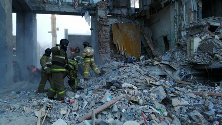 Из-под зававлов достали 39 тел. Фото: ГУ МЧС по Челябинской области