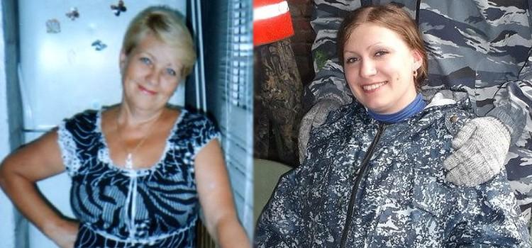 Погибшие Людмила Власова (слева) и Виктория Ларикова.