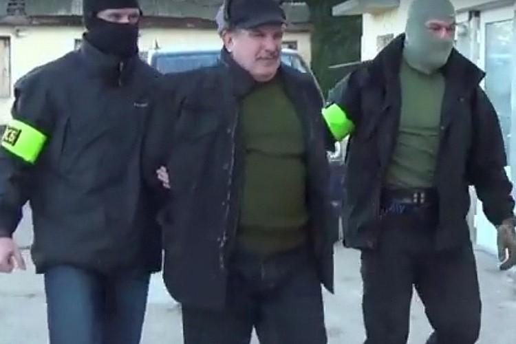 Леонида Пархоменко задержали в 2016 году. Фото: скриншот из видео
