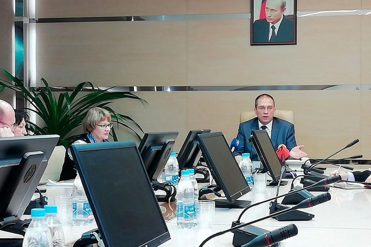 Дмитрий Баранов впервые провел пресс-конференцию для самарских журналистов