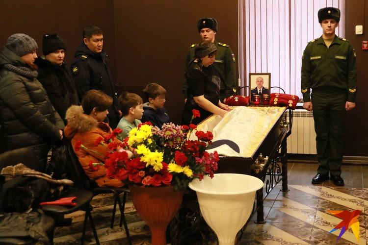 У Алексея Пайдыганова остались трое сыновей
