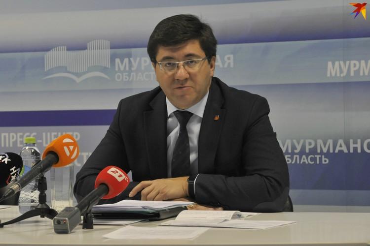 Зместитель губернатора Мурманской области Евгений Никора.