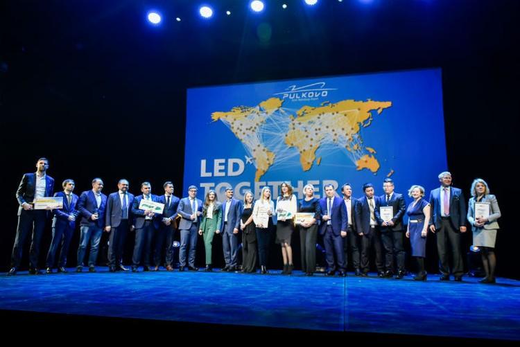 Пулково наградил лучшие авиакомпании по итогам работы в 2018 году.