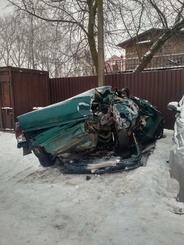 Теперь по факту ДТП заведено уголовное дело Фото: УГАИ УВД Минского облисполкома