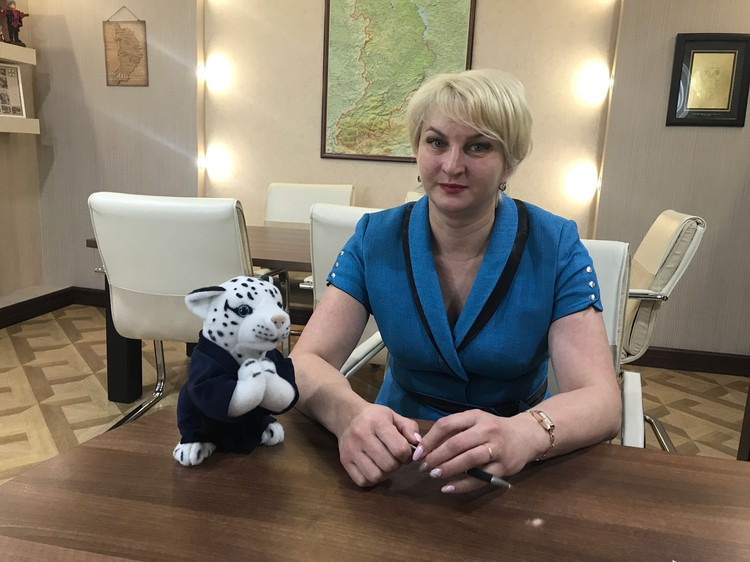 Министр финансов Республики Хакасия Войнова Ирина.