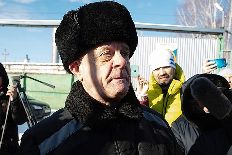 70-летний полковник ГРУ в отставке Владимир Квачков провел в тюрьме 11 лет. Фото: Станислав Красильников/ТАСС