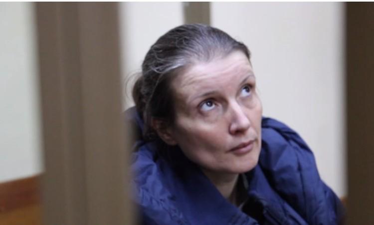 Анна Сухоносова на суде. Фото: Скриншот видео ФСБ