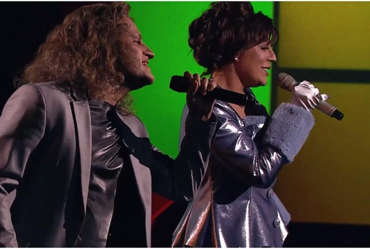 Вместе с Иракли Началова спела песню «Королева». Фото: кадр видео.