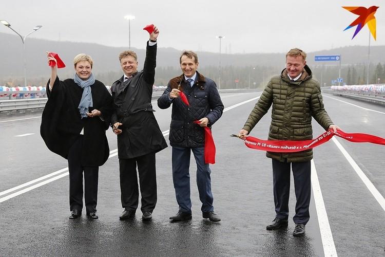 На новой трассе возвели 14 мостов, 3 транспортные развязки, наземный пешеходный переход и два лыжных проезда.