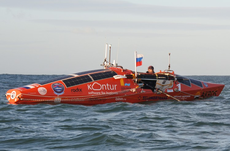 Хорошая погода в Южном океане - исключительная роскошь. Фото: konyukhov.ru