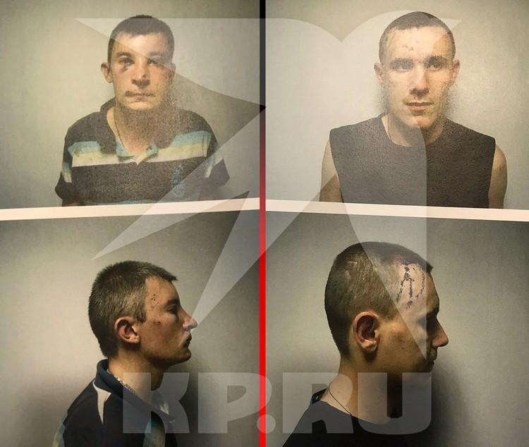 Фотографии задержанных из тюрем СБУ.