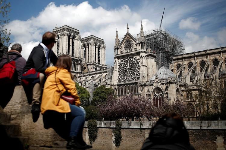 На восстановление главного собора Парижа понадобится пять лет.