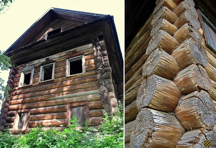 Дом купцов Меховых является памятником деревянного зодчества конца XVII — начала XVIIIв. Фото urban3p.ru