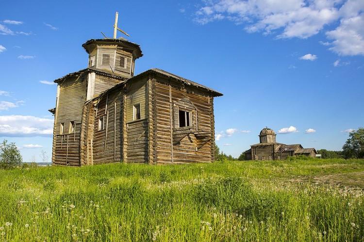 Храмовый комплекс. Церкви Власия и Климента в селе Тулгас. Фото Wikipedia