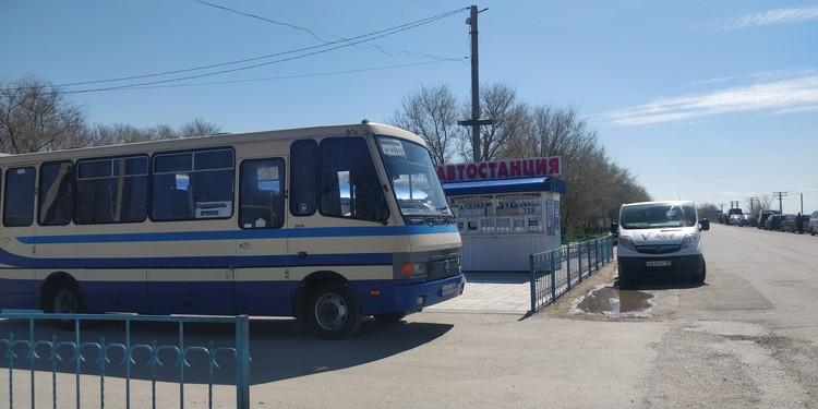 Автобусы из Армянска едут практически пустыми