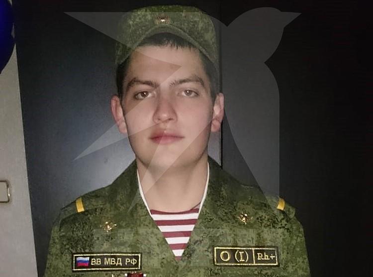 Максим Моисеев в годы военной службы. Фото из личного архива