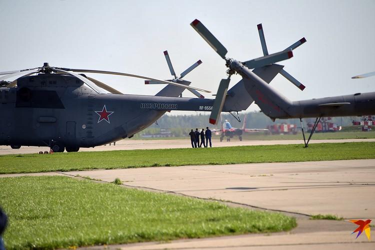 Тяжелые вертолеты Ми-26
