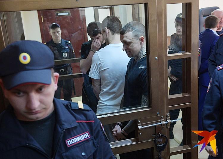 В Пресненском суде огласили приговор по громкому делу футболистов-дебоширов