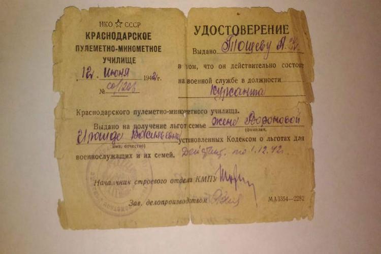 Курсантские полки были брошены на оборону Сталинграда.