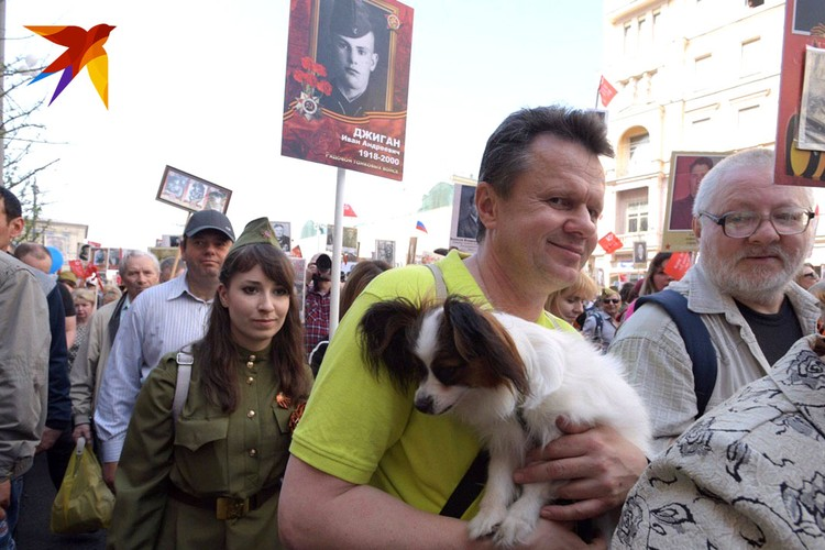 Бессмертный полк, Москва