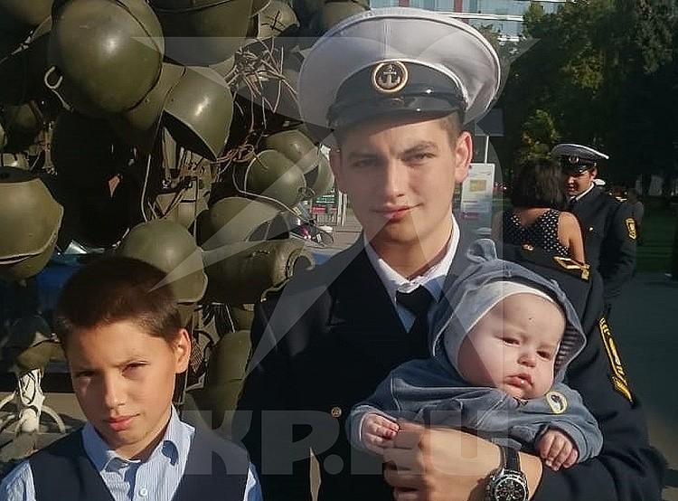 Максим - студент Академии морского флота. Фото из личного архива