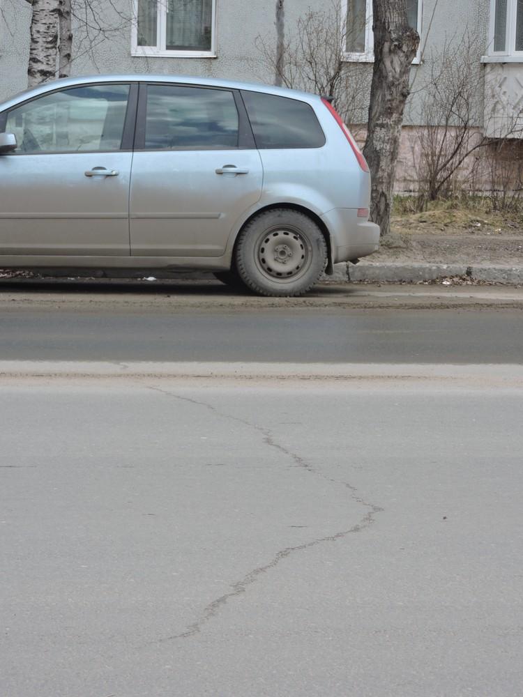 На улице Малышева отремонтировали участок протяженностью 0,45 км