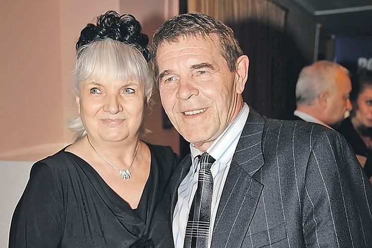 Актер Алексей Булдаков с женой Людмилой.