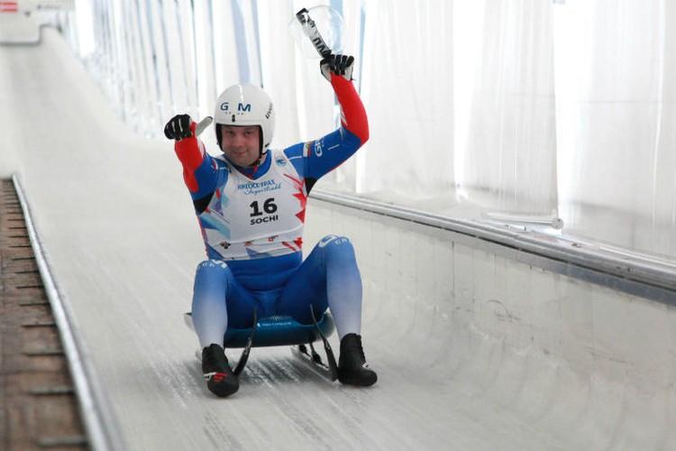 В прошлом сезоне Семен выиграл практически все, что можно. Фото: федерация санного спорта России.