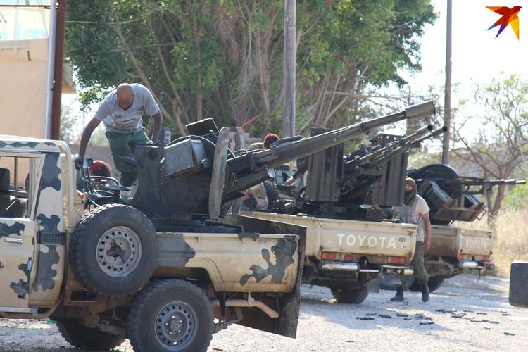 Ливийская национальная армия увязла в позиционных боях под столицей
