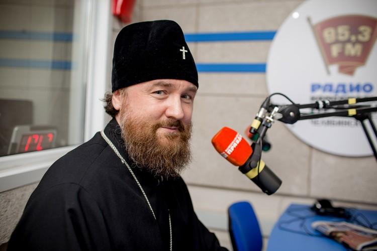 Митрополит Григорий на радио «Комсомольская правда».