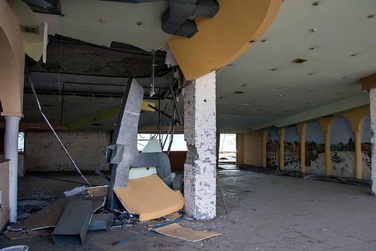Кафе кинотеатра. Фото: facebook.com/vladimir.verbitskiy