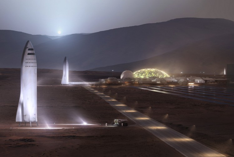 """Какое-то время """"марсиане"""" смогут жить в тех кораблях, на которых они прилетели."""