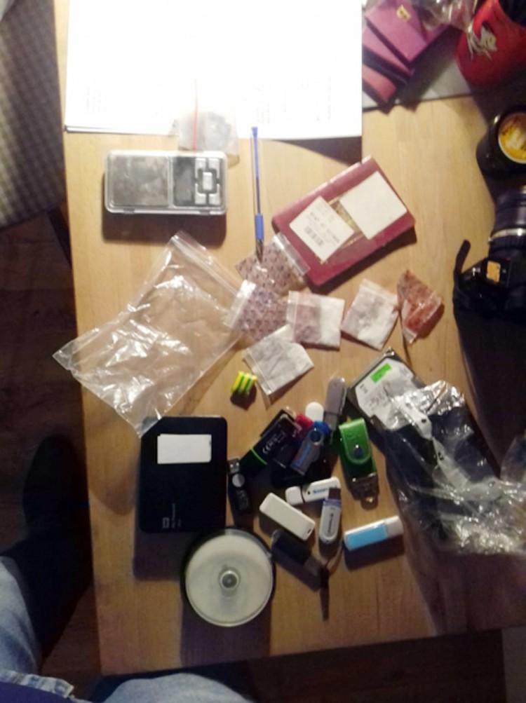 Единственное фото сделанное, как утверждает МВД, в квартире журналиста Фото: ГУ МВД по г. Москве