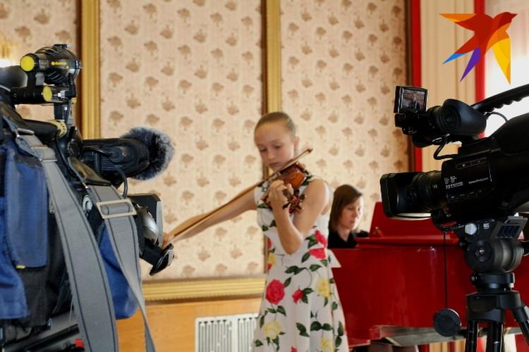 Играть под прицелом камер и взгляда Юрия Башмета - дело непростое
