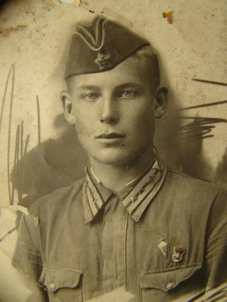 Герой Аркадий Кольцов. Фото из архива семьи Кольцовых