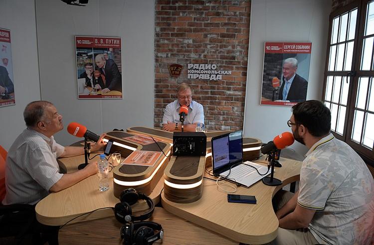 Сергей Степашин в прямом эфире