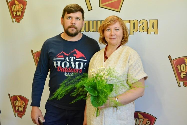 Надежда и Сергей Сорокины.