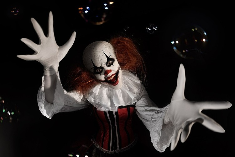 "Клоун из ""Оно"". Фото: Эллина Мюллер"