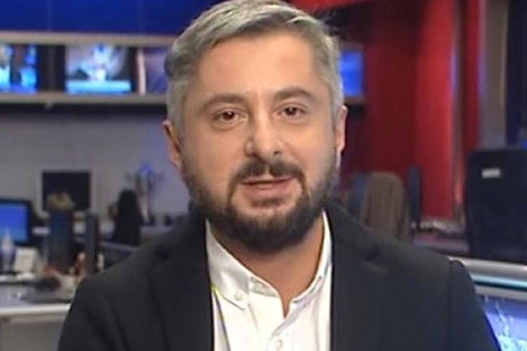 """Генеральный директор телекомпании """"Рустави 2"""" Ника Гварамия."""